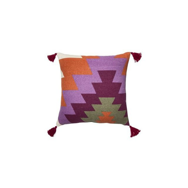 Mudhut Handwoven Toss Pillow