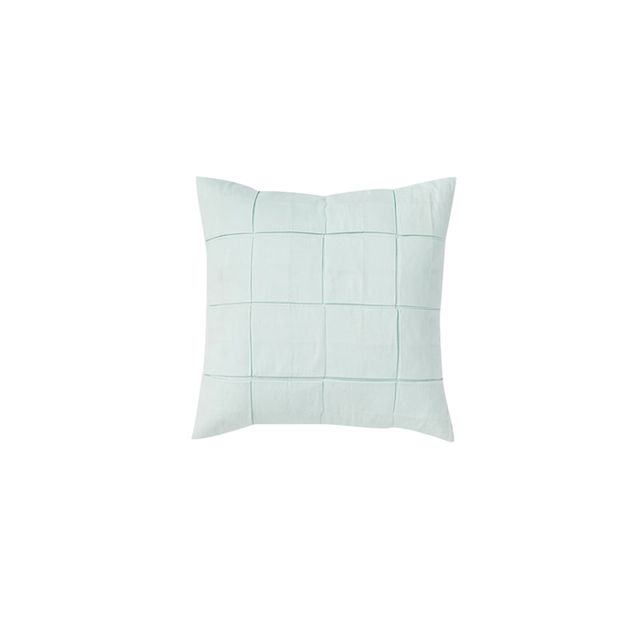 West Elm Solid Square Tuck Pillow