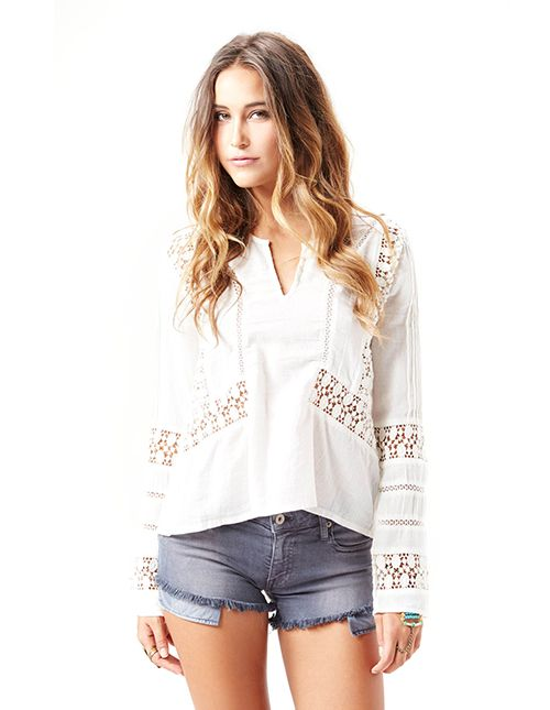 Chloe Oliver The Sonora Peasant Blouse