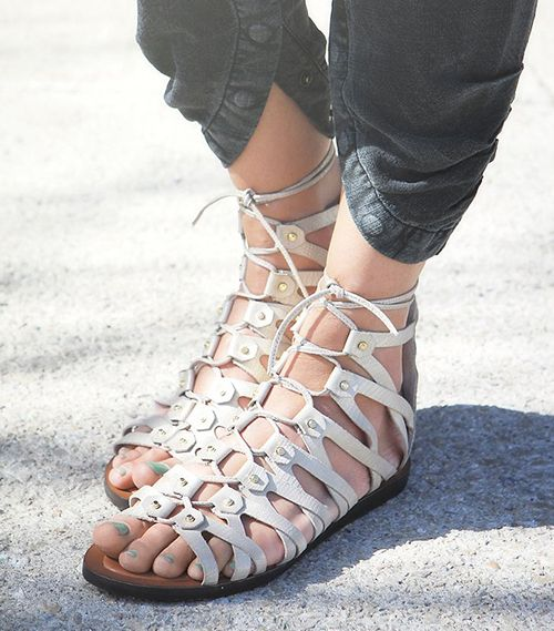Dolce Vita Santa Monica Lace Up Sandal