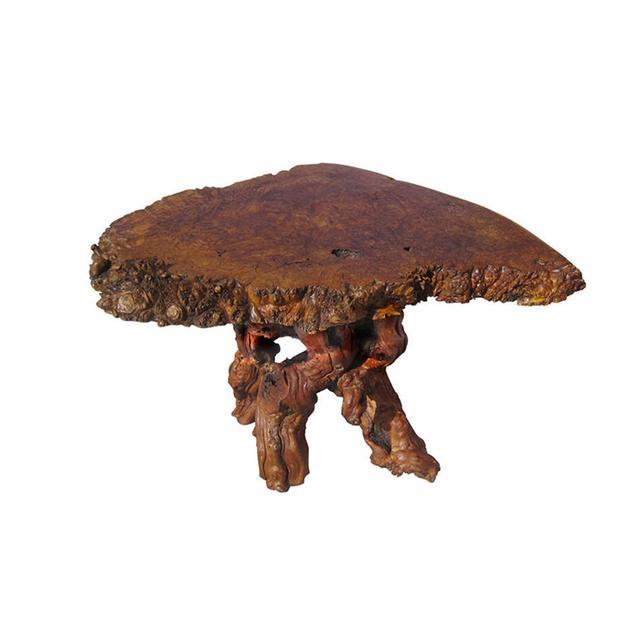 Galerie Sommerlath Freeform Burl Wood Coffee Table