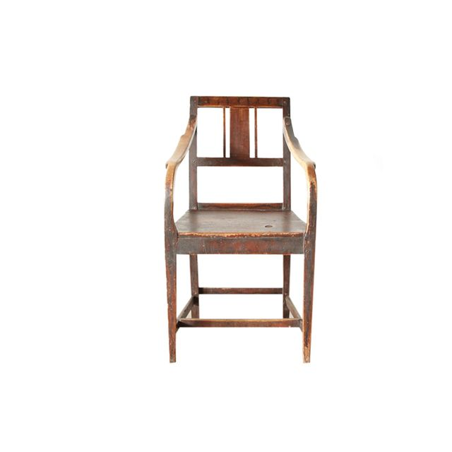 Galerie Half Wooden Armchair
