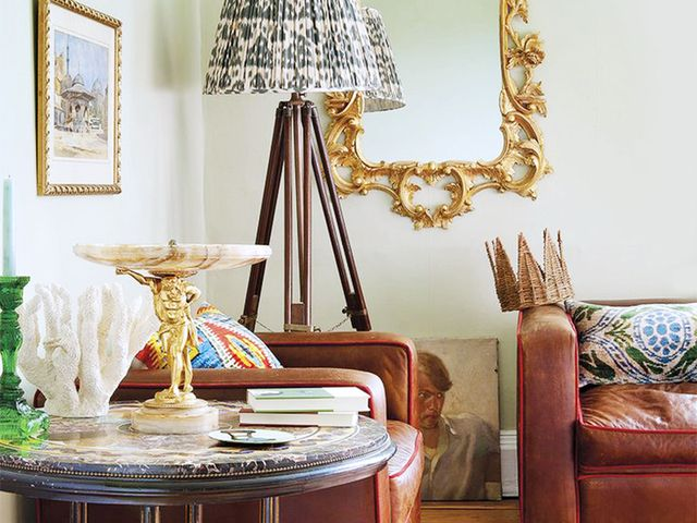 Get The Look A Royally Layered Living Room Mydomaine