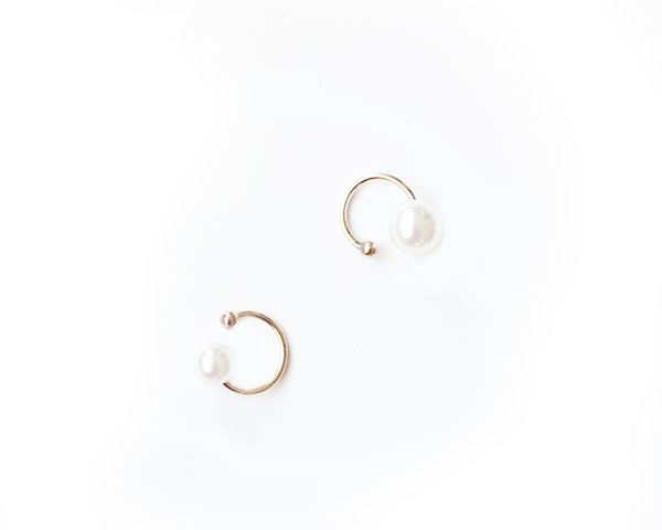 The Haute Pursuit Pearl Ear Cuffs Set