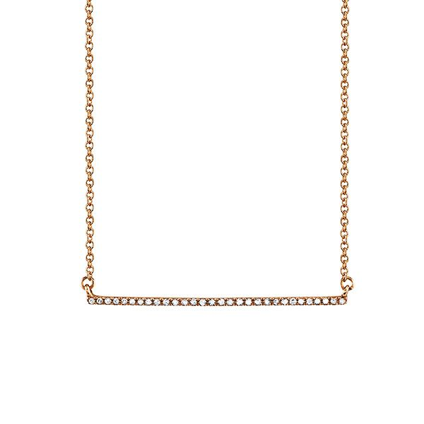 Gabriela Artigas Diamond Bar Necklace