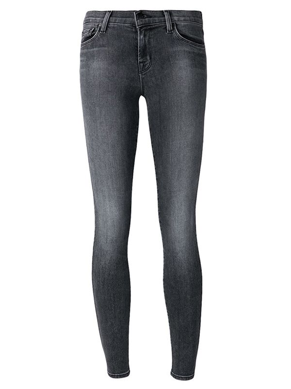 J Brand Midrise Super Skinny Jeans