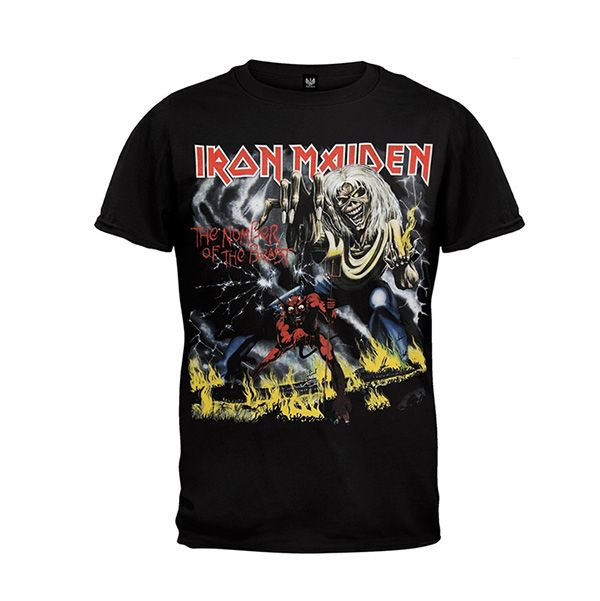 Old Glory Iron Maiden Tee