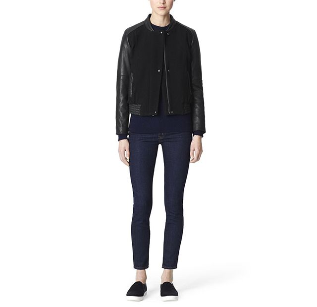 Cole Haan Bubble Bomber Jacket