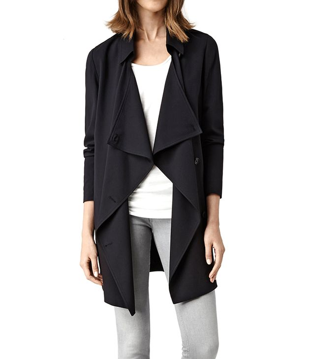 All Saints Heskin Trench Coat