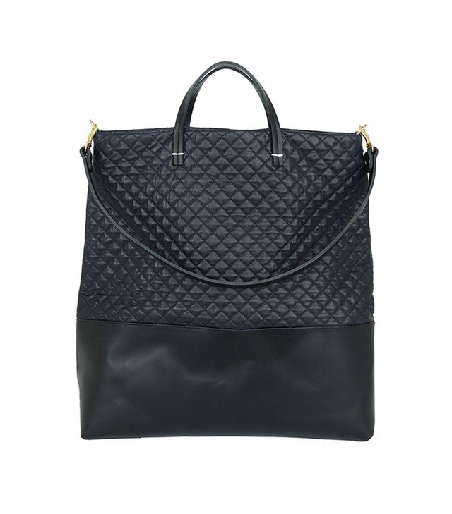 Clare V. Matilde Quilted Leather Tote