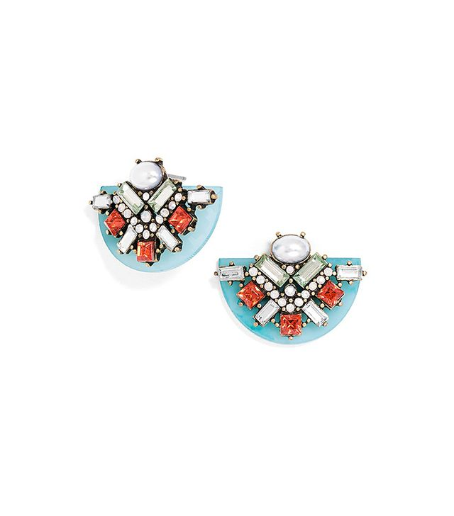 BaubleBar South Beach Resin Studs