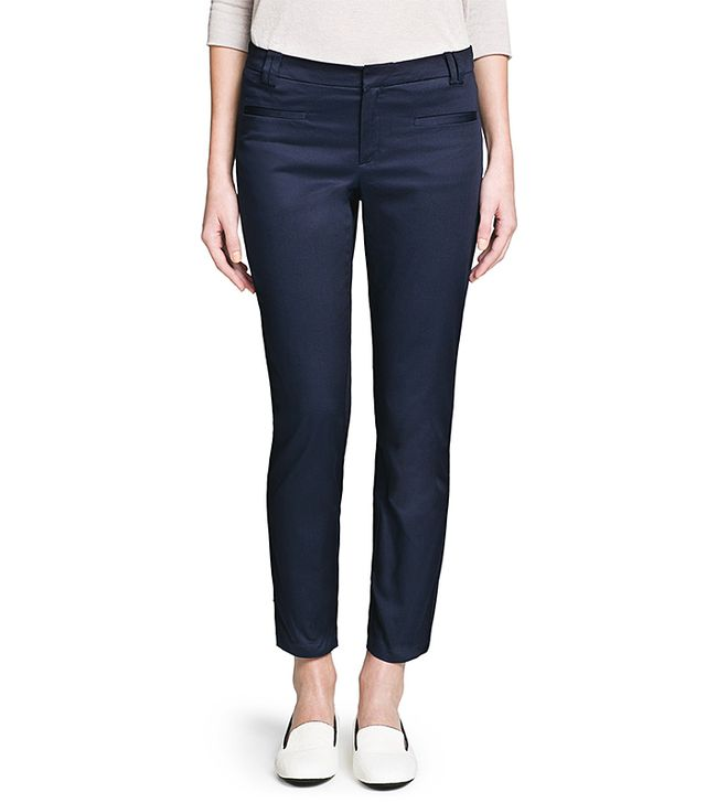 Mango Cropped Trousers