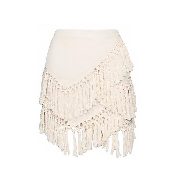 Pixie Market Ibiza Tassel Skirt