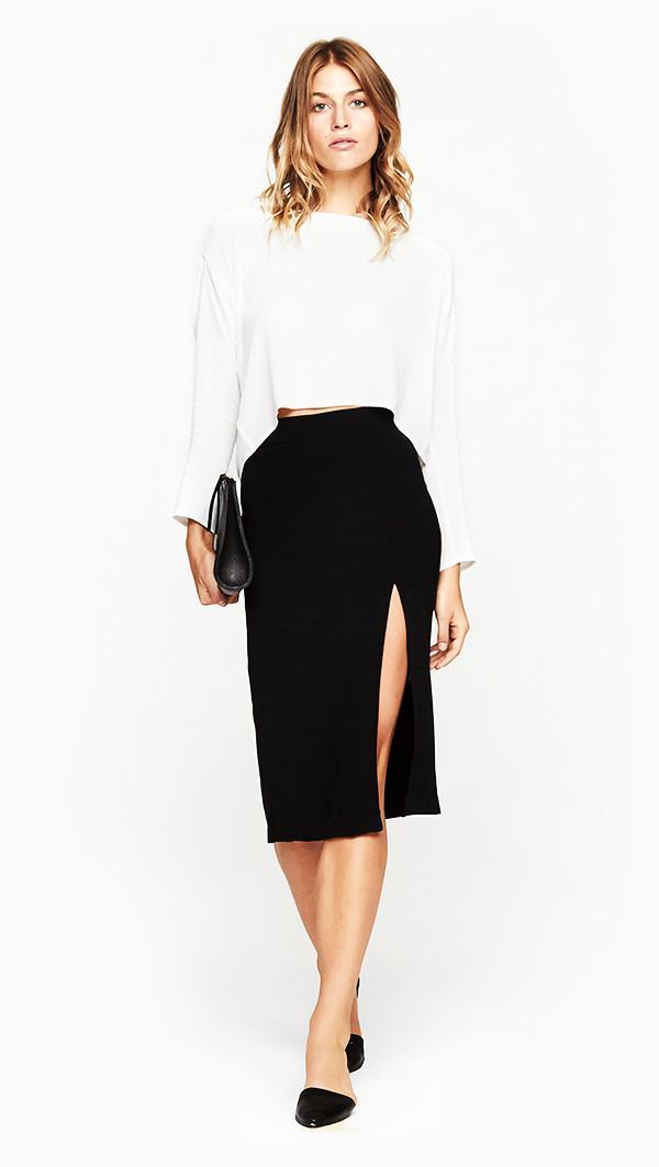 Won Hundred Lacey Skirt