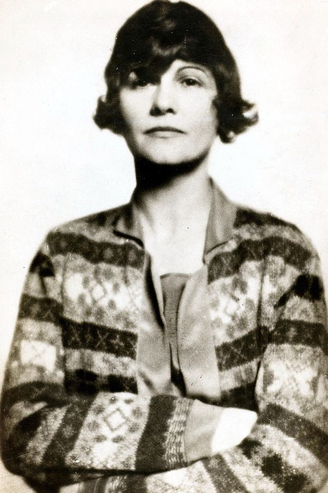A portrait of Coco Chanel, 1910