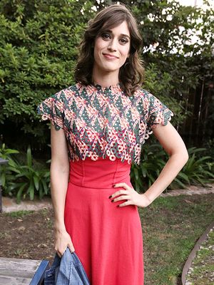 Lizzy Caplan Throws Stylish Pre-Emmys Dinner at the Levi's Haus