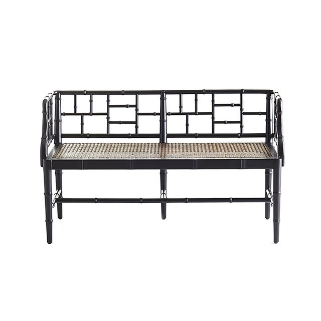 Wisteria Chinese Chippendale Bench