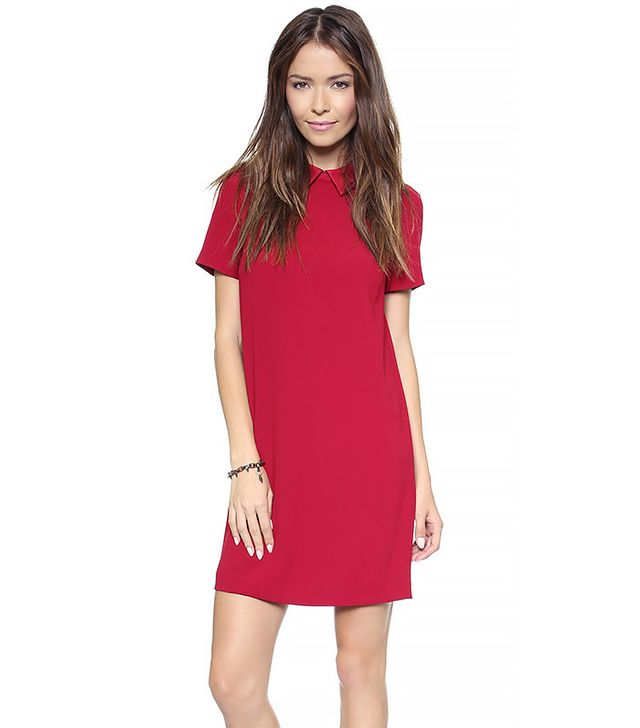 DKNY Short-Sleeve Shift Dress