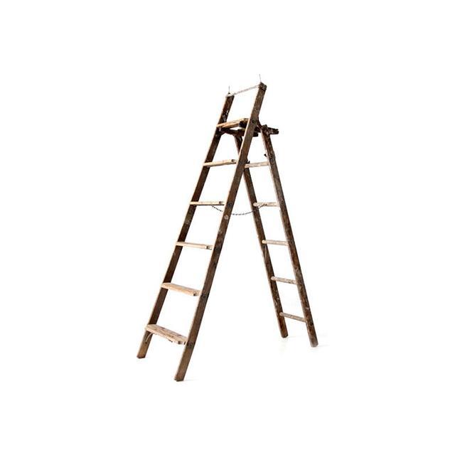 86home Antique Ladder
