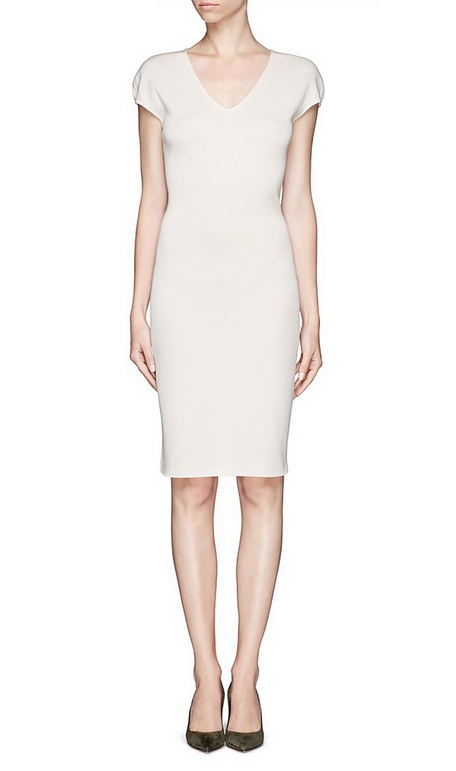 St. John Milano Knit Sheath Dress