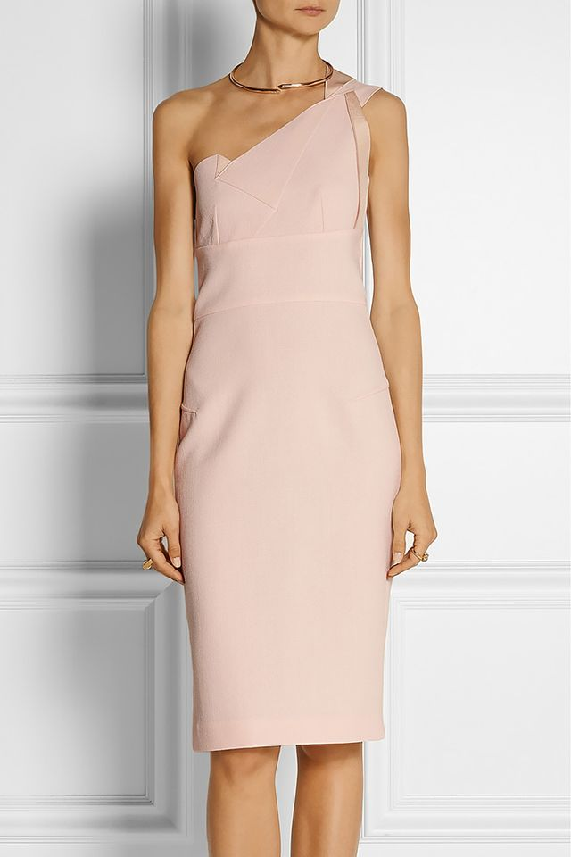 Roland Mouret Aglais One-Shoulder Dress