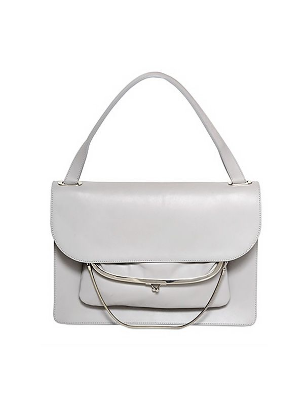 Maison Martin Margiela Brushed Leather Shoulder Bag