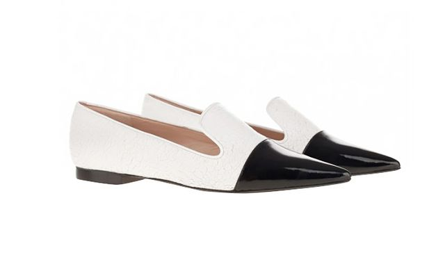 The Mode Collective Point Loafers