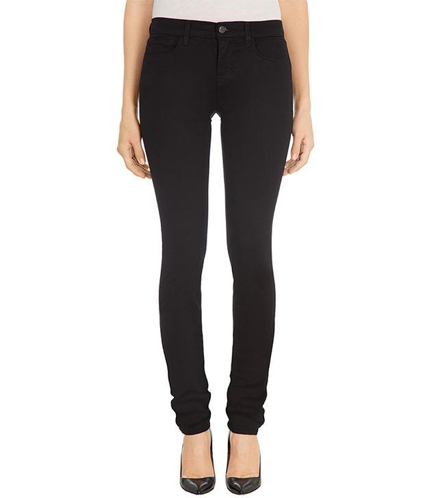J Brand Luxe Sateen Petite Rail Jeans