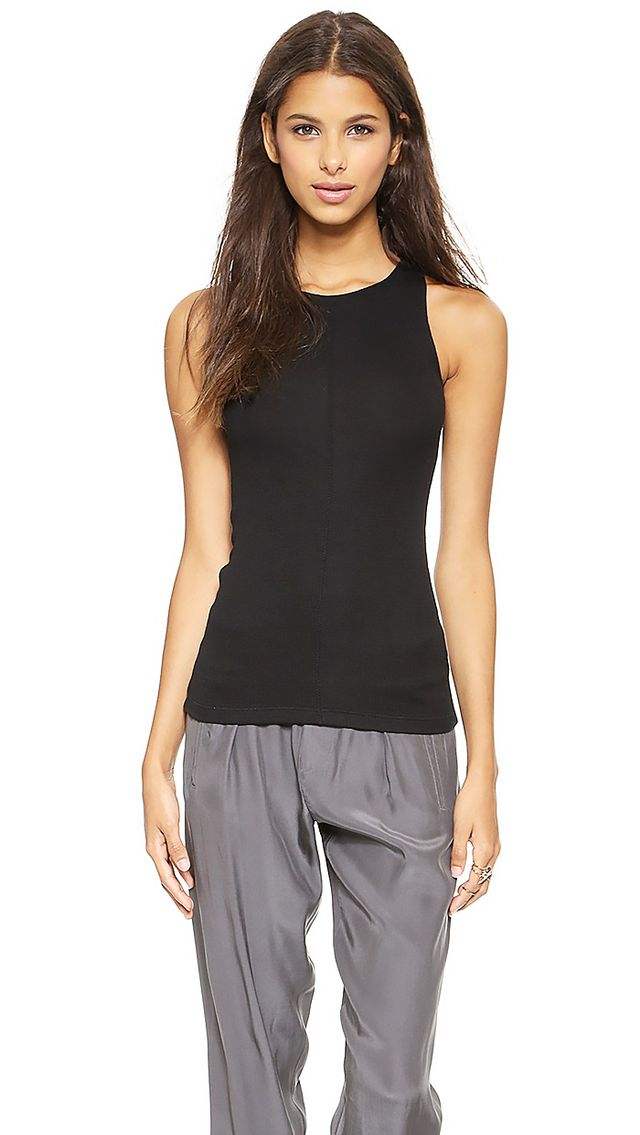 ATM Anthony Thomas Melillo Micro Modal Rib Tank Top