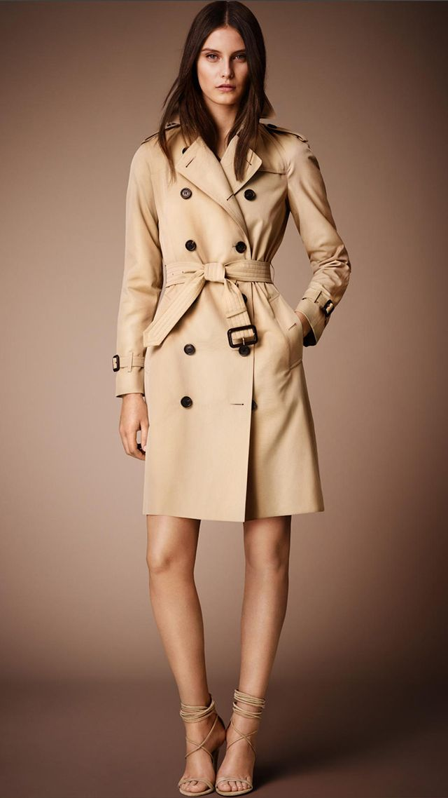 Burberry Prorsum The Westminster Long Heritage Trench Coat