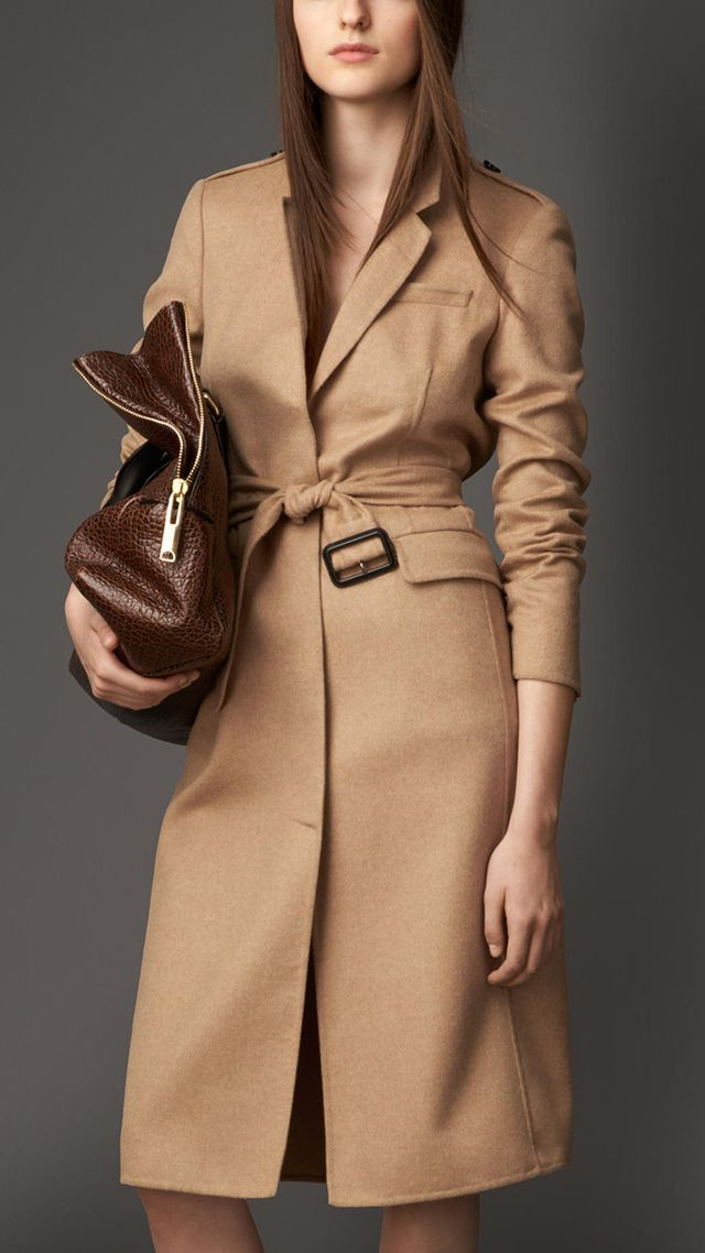 Burberry London Double Cashmere Coat