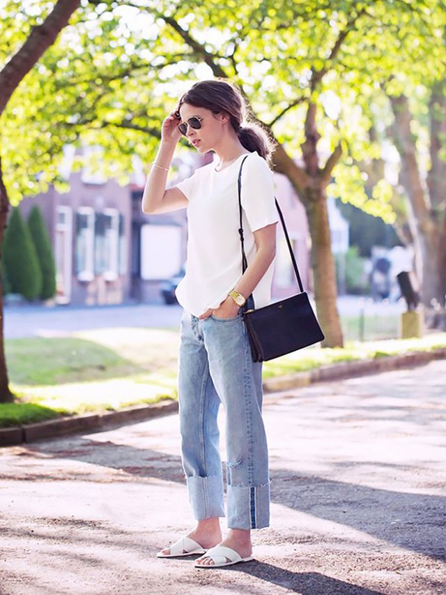 4. Jeans and a T-shirt