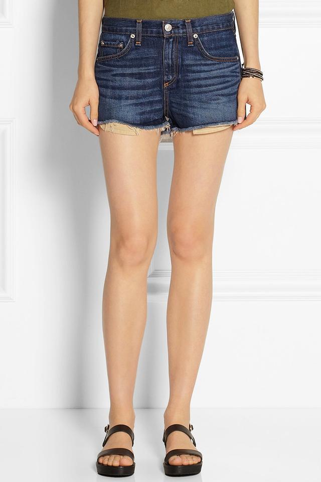 Rag & Bone Mila Cutoff Denim Shorts