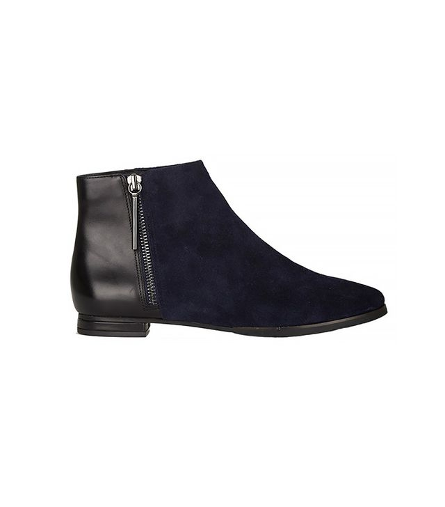 French Connection Devon Flat Ankle Boots