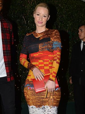 Iggy Azalea's Bold Date Night Look
