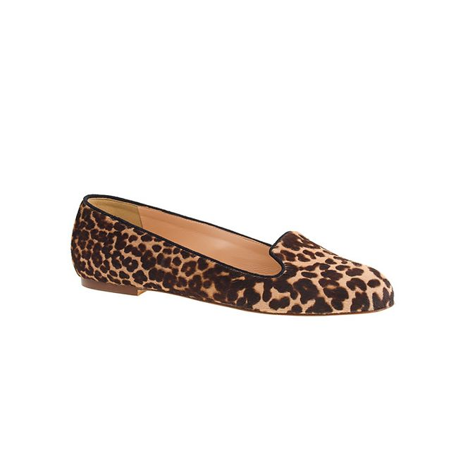 J.Crew Sophie Calfhair Loafers