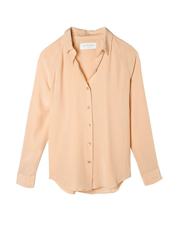 Everlane The Silk Point Collar Shirt