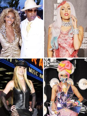 The 15 Most Outrageous VMAs Looks Ever