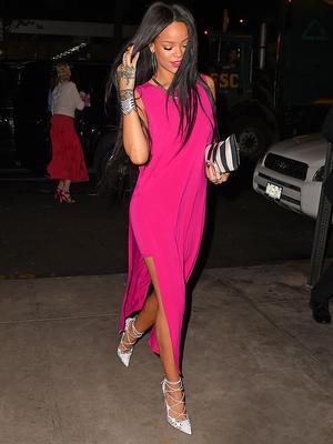 Rihanna Gives Us a Major Reason to Wear Pink
