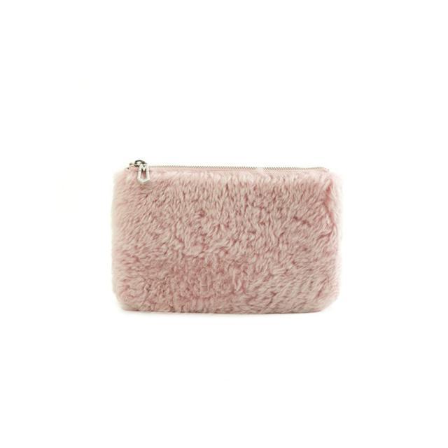Marc Jacobs Shearling Beauty Bag