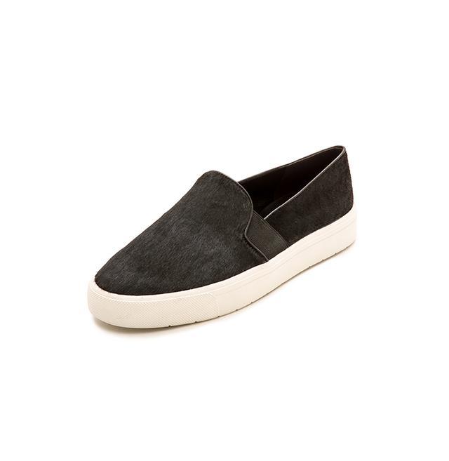 Vince Berlin Haircalf Slip-On Sneakers