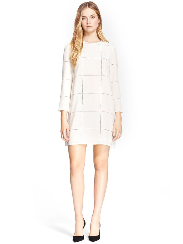 Theory Kula P Silk Shift Dress
