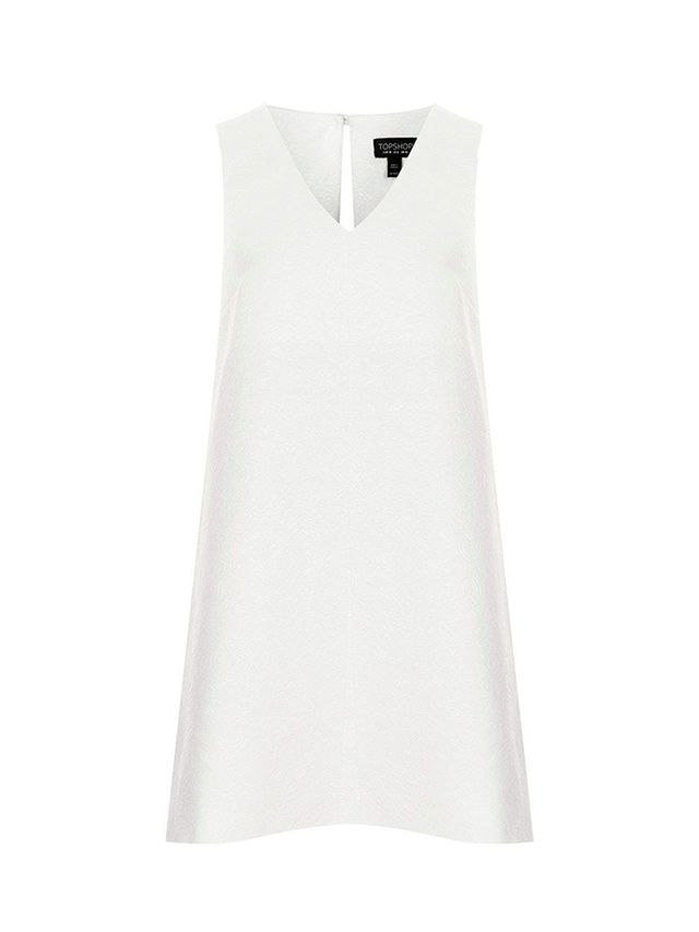 Topshop Jacqard Trapeze Dress