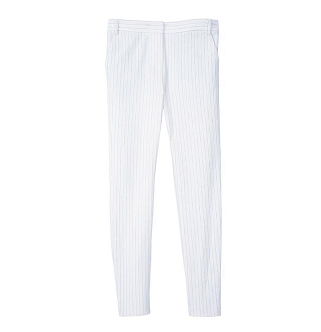 Tibi Pinstripe Slim Pants