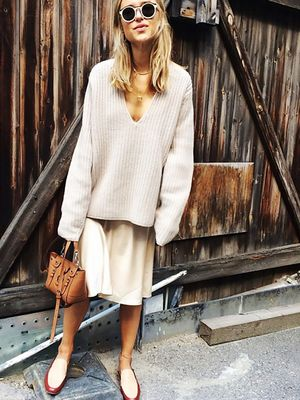 The Lightweight Sweater You'll Want to Live in This Fall