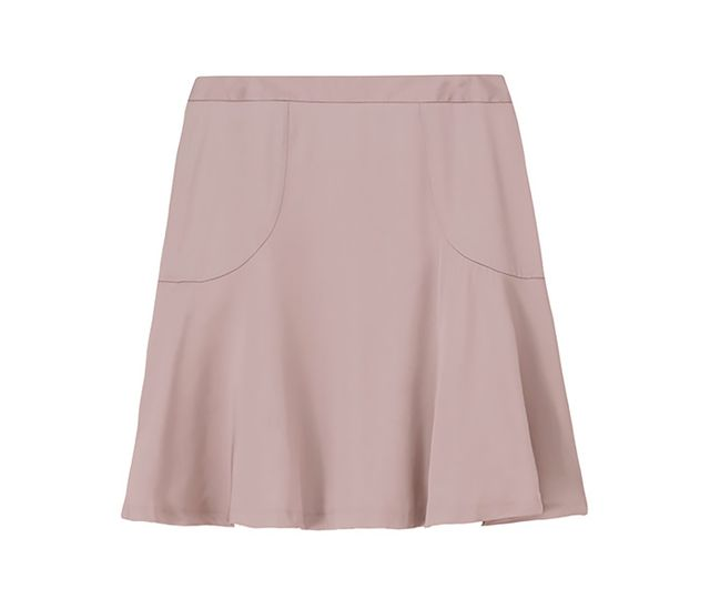 Filippa K Satin Flared Skirt