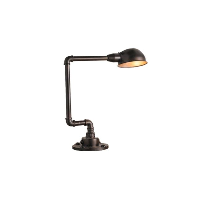 Shades of Light Pipe and Dome Shade Desk Lamp