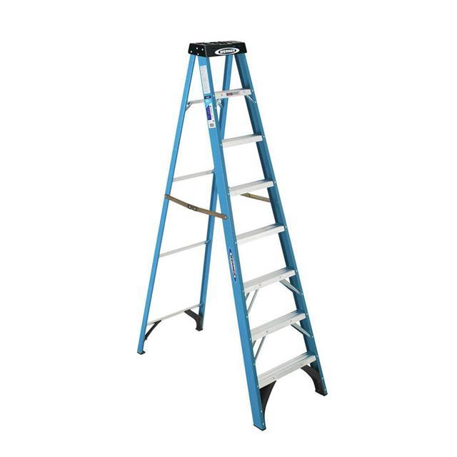 Werner 8-ft. Fiberglass Step Ladder