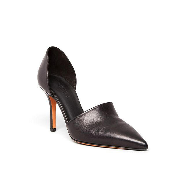 Via Spiga Pointed Toe Ankle Pumps