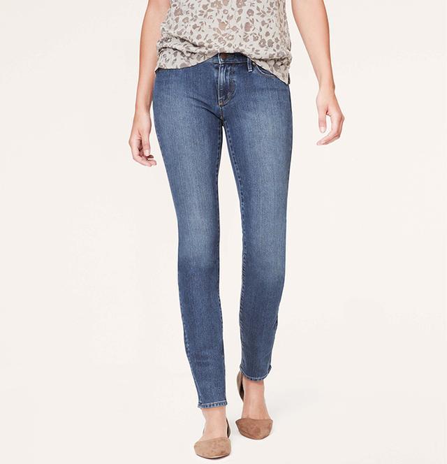 Loft Supreme Modern Skinny Jeans